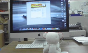CroKumaのPCはMac